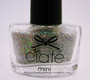 Ciaté - Mini Mani Month American Set - glitter - twinkle toes - close up