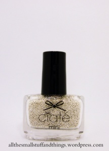 Ciaté - Mini Mani Month American Set - pearls - metallic pearls silver
