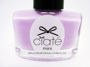Ciaté - Mini Mani Month American Set - PP080 sugar plum - close up