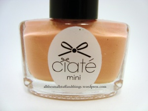 Ciaté - Mini Mani Month American Set - PP091 ivory queen - close up