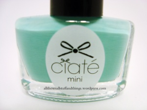 Ciaté - Mini Mani Month American Set - PP104 pepperminty - close up