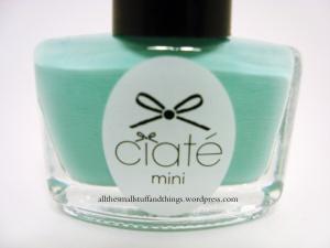 Ciaté - Mini Mani Month American Set - PP104 pepperminty - close up
