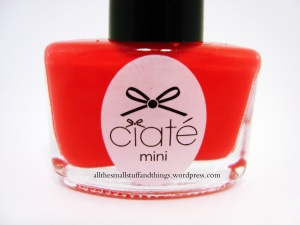Ciaté - Mini Mani Month American Set - PP105 play date - close up
