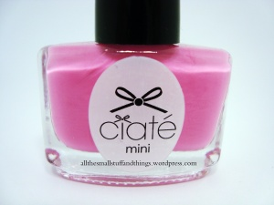 Ciaté - Mini Mani Month American Set - PP118 candy floss - close up