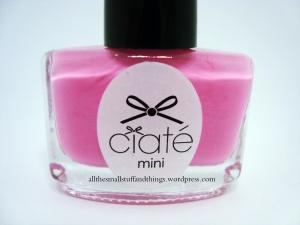 Ciaté - Mini Mani Month American Set - PP118 candy floss - close up