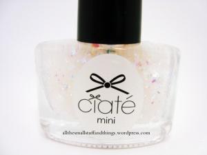 Ciaté - Mini Mani Month American Set - PP146 snow globe - close up