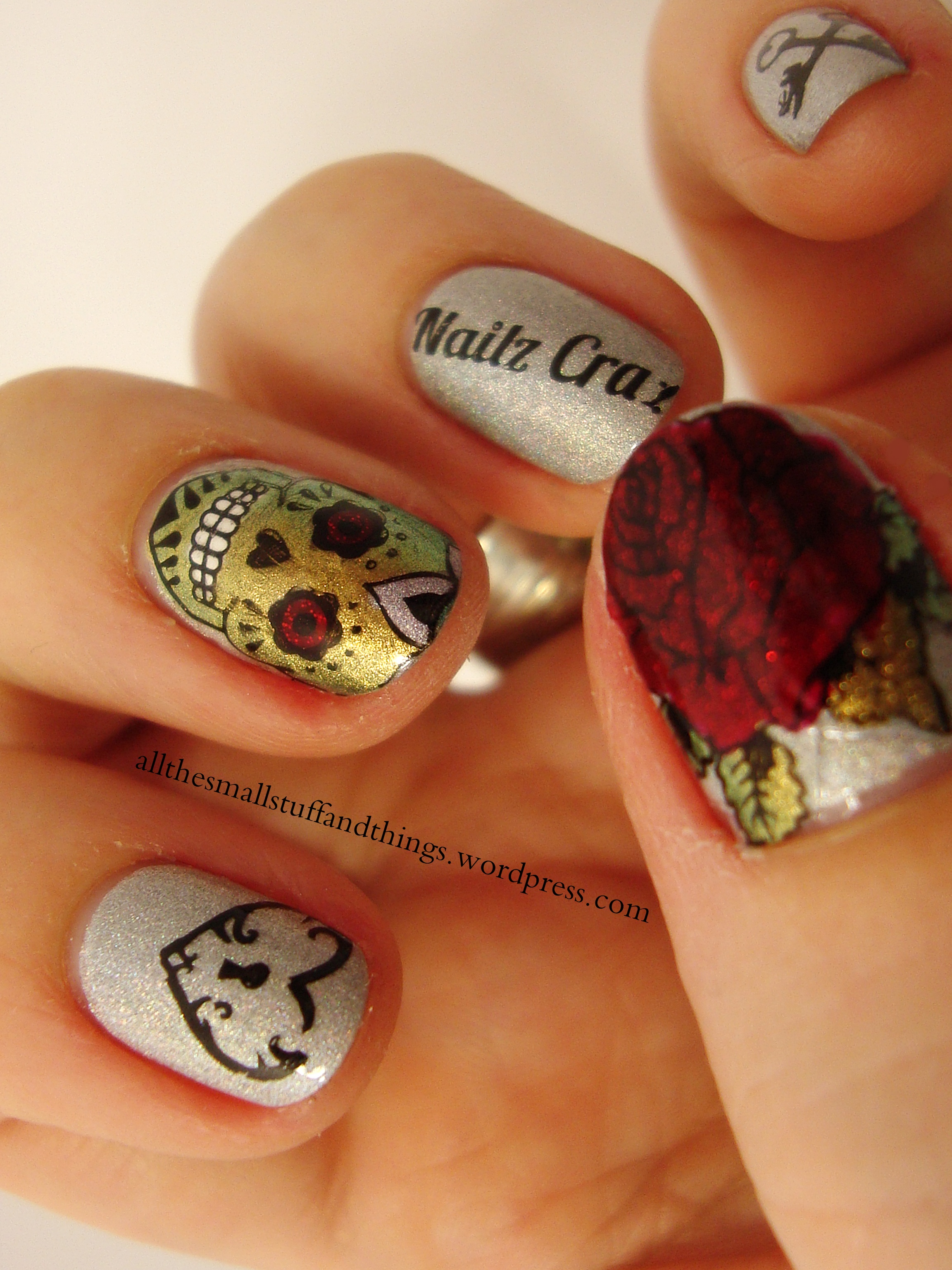 Nail stamping plates by Nailz Craze [Update] | all the small stuff ...