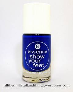 Essence Show you feet - 27 electric blue
