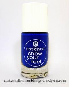 Essence Show you feet - 27 electric blue
