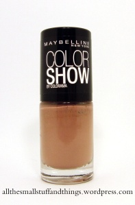 Maybellin Color Show - 015 Nude skin (unsicher)