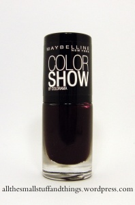 Maybelline Color Show - 357 Burgundy Kiss