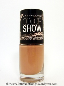 Maybelline Color Show Stripped Nudes - 227 In your flesh