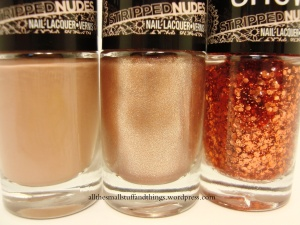 Maybelline Color Show Stripped Nudes Trio - close up