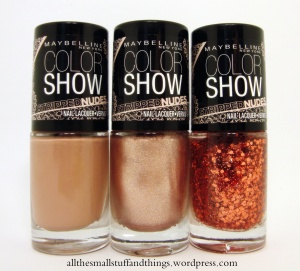 Maybelline Color Show Stripped Nudes Trio
