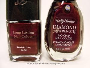 Sally Hansen Diamond Strength - 460 Save the Date DUPE Rival de Loop 24 - close up