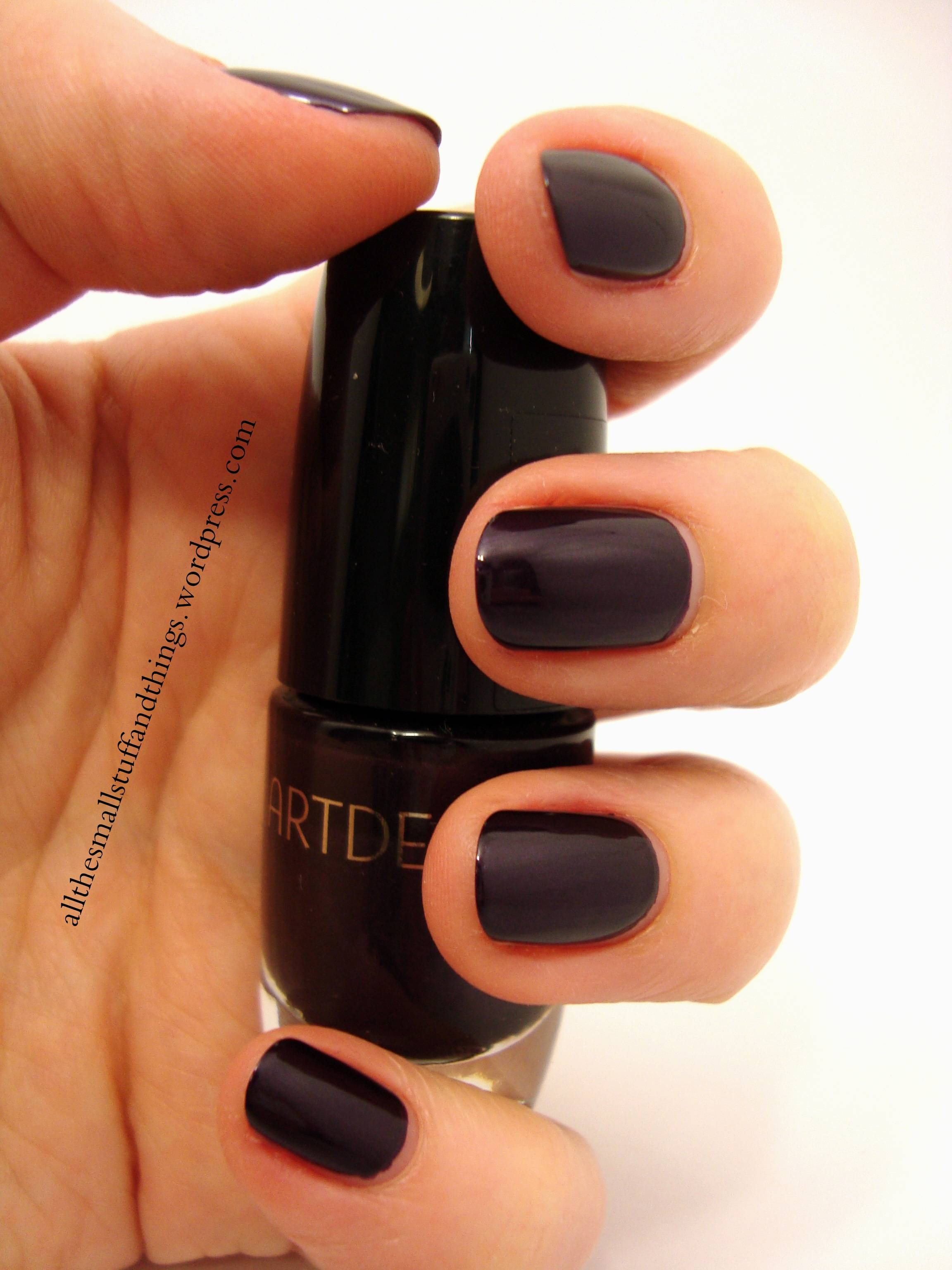Review] Artdeco – 146 Ceramic Nail Lacquer | all the small stuff and ...