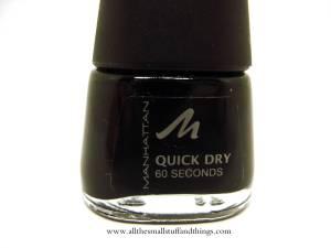 Manhattan Quick Dry 60 seconds - 1010N - close up