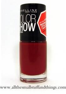 Maybelline Color Show - Rot (Bezeichnung unbekannt)