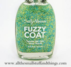 Sally Hansen Fuzzy Coat - 500 Fuzz-Sea close up