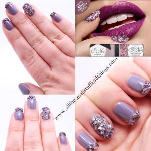 crushed shell manicure