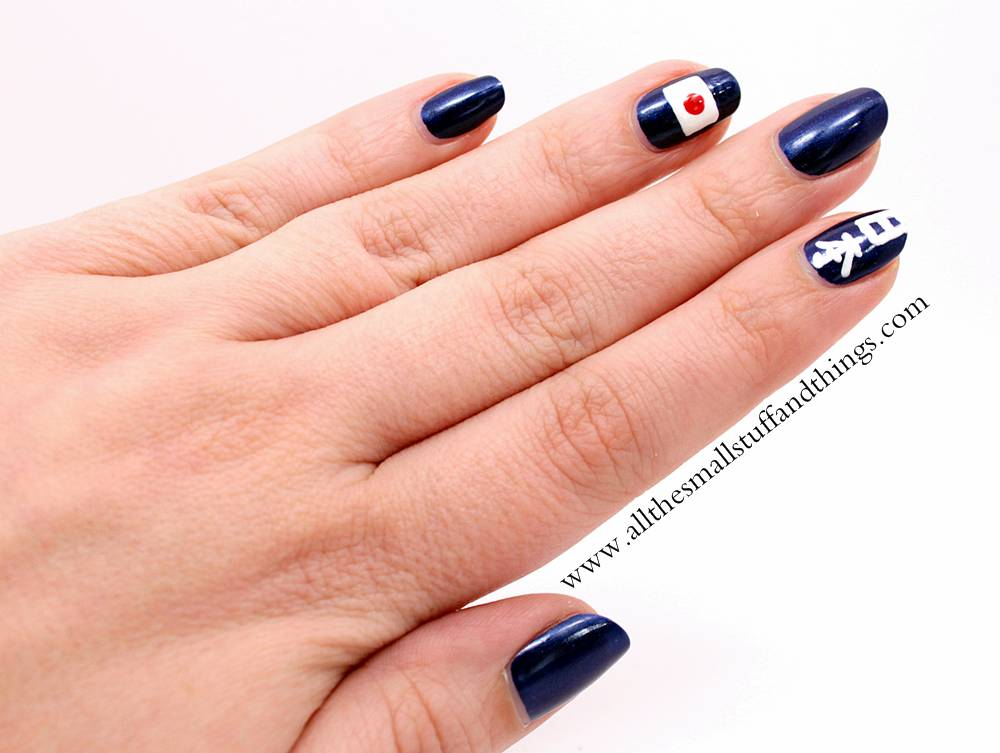 JAPAN inspired nail art design | all the small stuff and things
