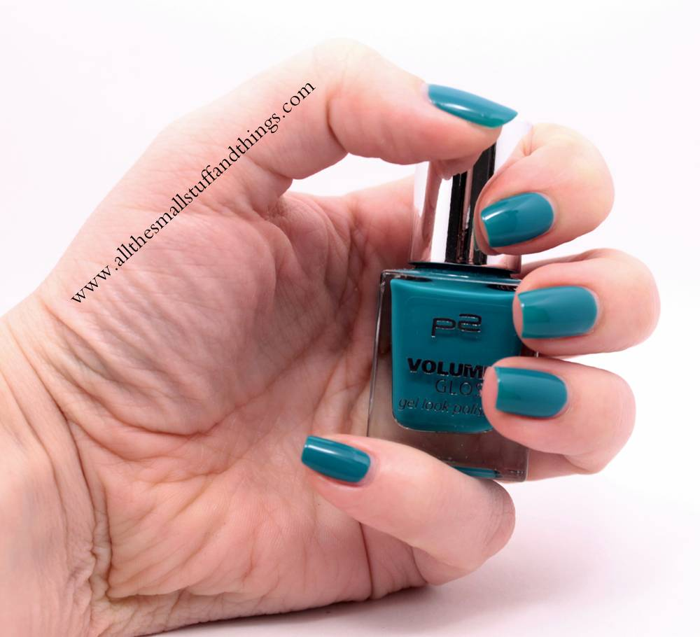 Review] p2 – volume gloss gel look polish – 009 california girl + ...