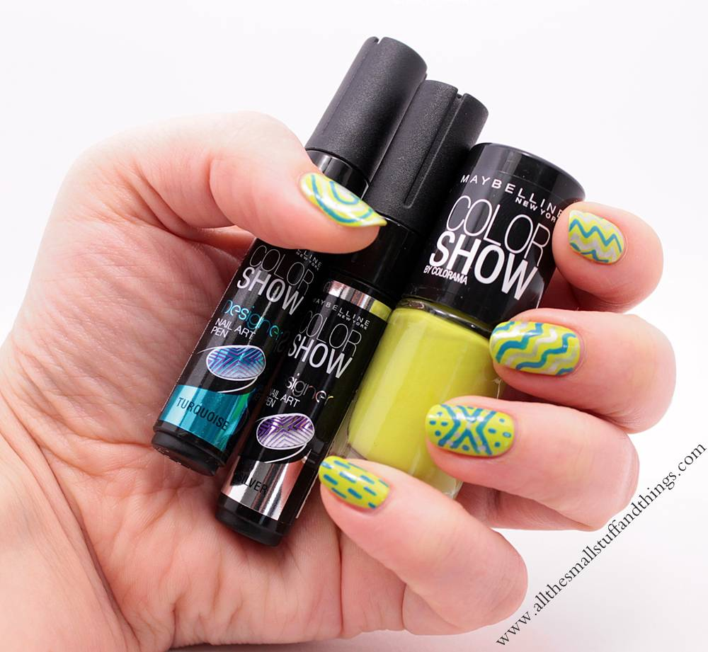 Review maybelline colorshow 754 pow green 120 urban turquoise img0843 prinsesfo Gallery