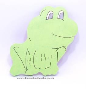 Sticky frog