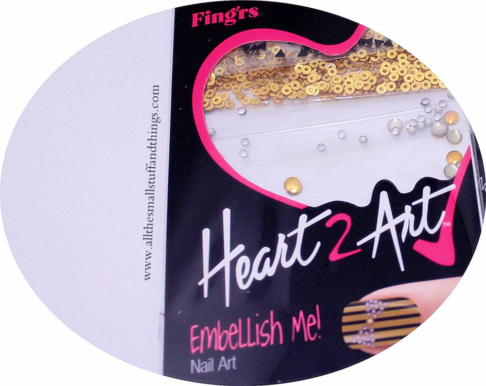 Sponsored fingrs 2332 pink glitter flower nail wraps all fingrs heart 2 heart 33042 embellish me decorations prinsesfo Gallery