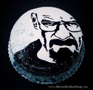 Breaking Bad cake blog